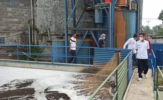 Kang DS Sidak Pabrik Tekstil PT Artitek