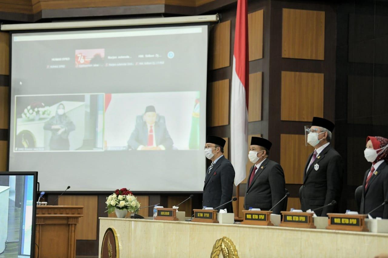76 TAHUN INDONESIA Gubernur Jabar Ridwan Kamil Hadiri Sidang Tahunan MPR RI 1