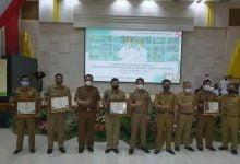 Disperkimtan Kab Bandung Raih Penghargaan Program 99 Hari Bedas