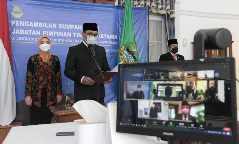 Gubernur Jabar Rotasi 3 Pejabat Pemda Provinsi