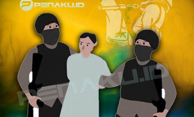 Pria Bacok Leher Selingkuhannya Di Cianjur, Dibekuk Polisi