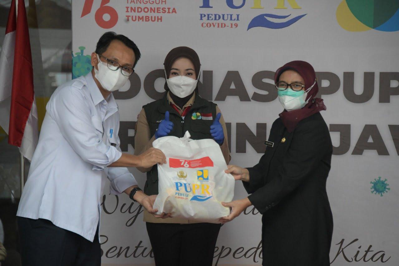Jabar Bergerak Terima Donasi dari Kementerian PUPR 1