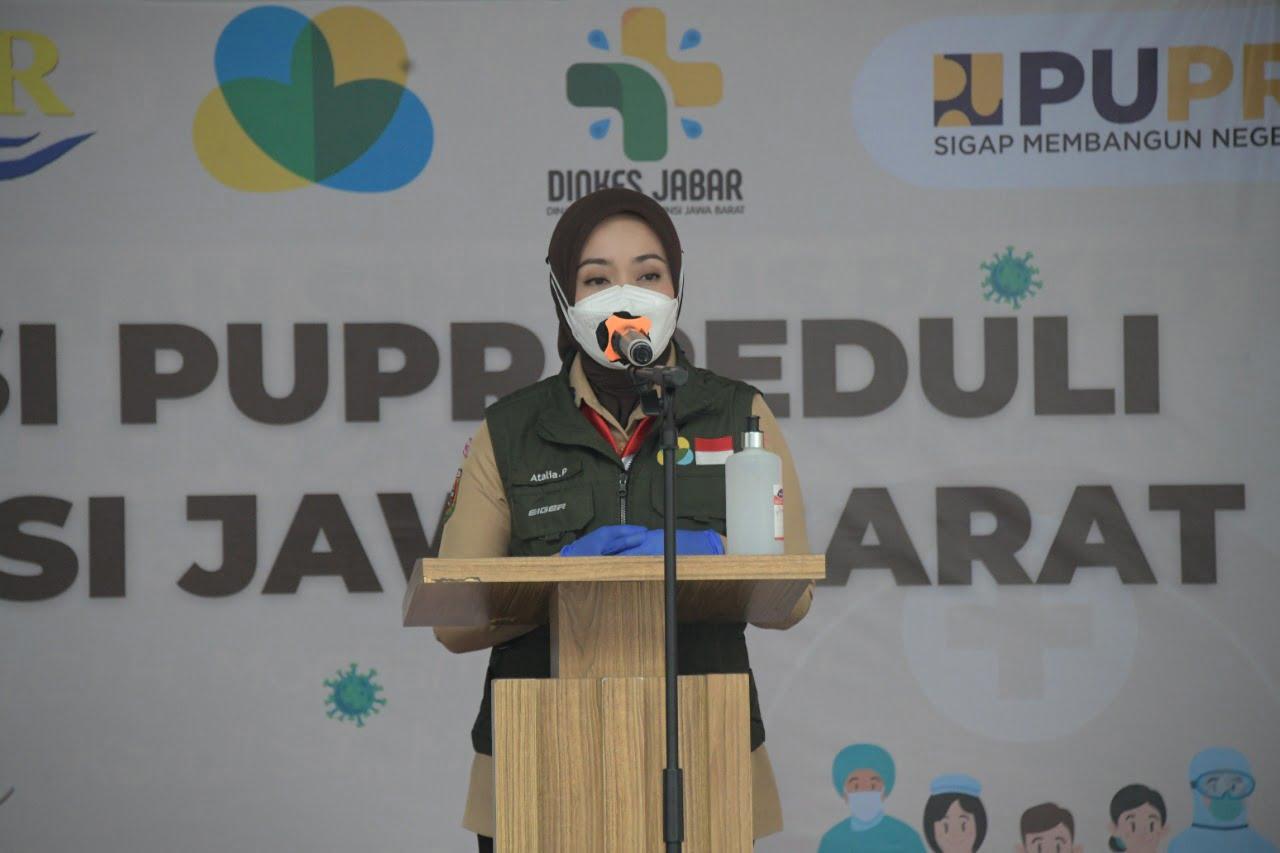 Jabar Bergerak Terima Donasi dari Kementerian PUPR 2