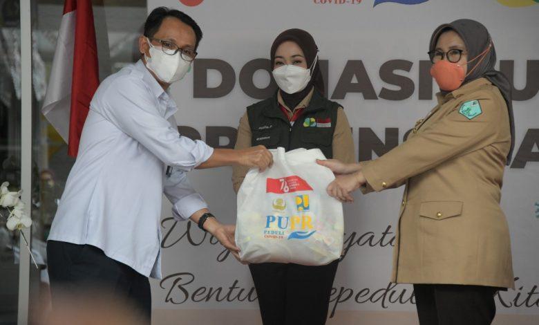 Jabar Bergerak Terima Donasi dari Kementerian PUPR