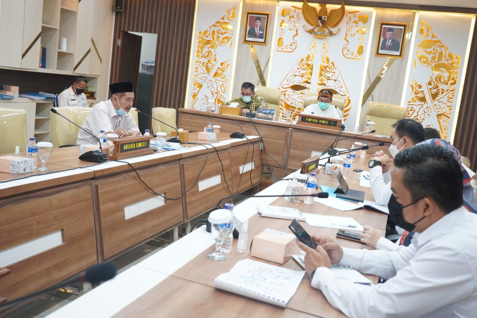 Komisi I DPRD Jabar Fokus Pada Program OPD