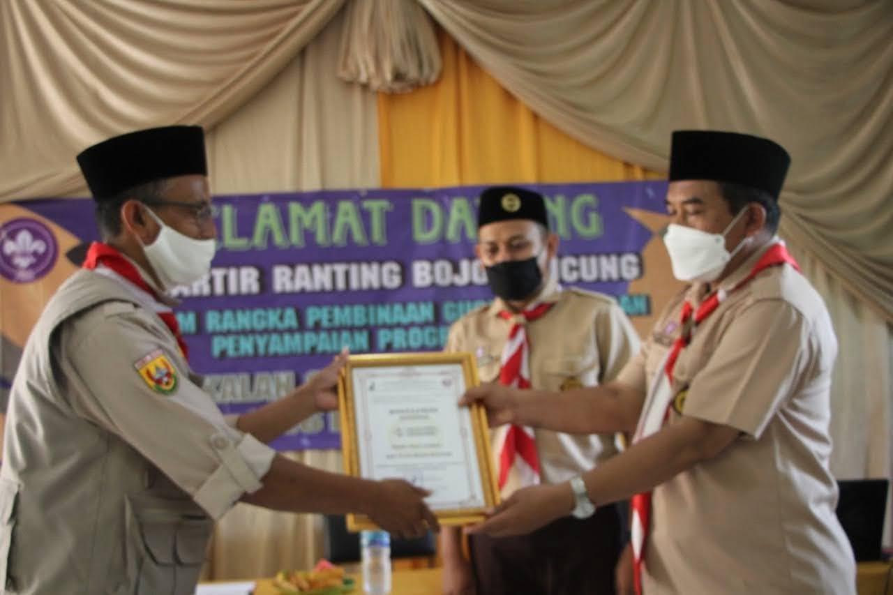 Kwaran Pramuka Bojongpicung Lakukan Pembinaan ke Setiap Gudep 1