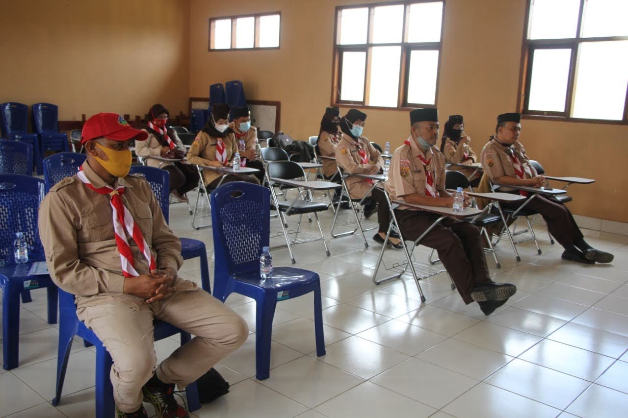 Kwaran Pramuka Bojongpicung Lakukan Pembinaan ke Setiap Gudep 2