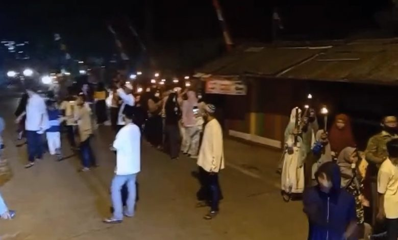 Pawai Obor 1 Muharam di Cianjur Dibubarkan Aparat Desa