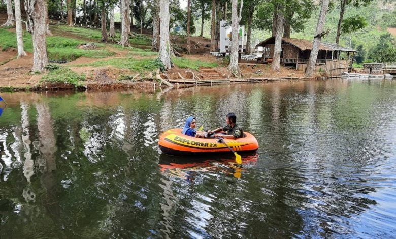 Pengurus Wisata Cigunung Tugu Takokak Studi Banding ke Jangari Cianjur