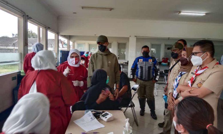 Ratusan Buruh Divaksin COVID-19 di PT Namasindo Plas Batujajar