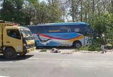 Sopir Bus Mengemudi Ngawur, Lindas Pemotor Hingga Tewas