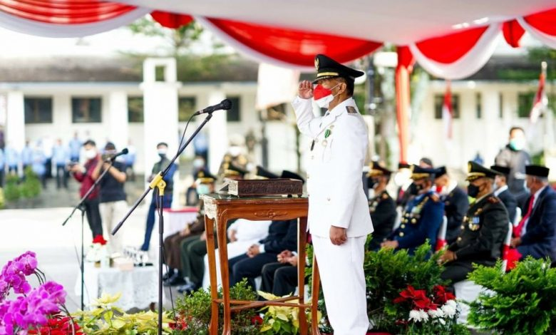 Walikota Bandung Ajak Mencontoh Pengorbanan Pahlawan
