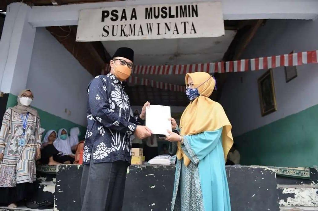 Walikota Fahmi Doakan Anak anak