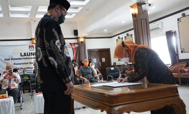 Pemkot Sukabumi Teken Kerja Sama dengan KPU