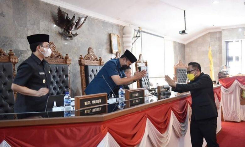 Rapat Paripurna DPRD dengan Pemkot Sukabumi Bahas 3 Agenda