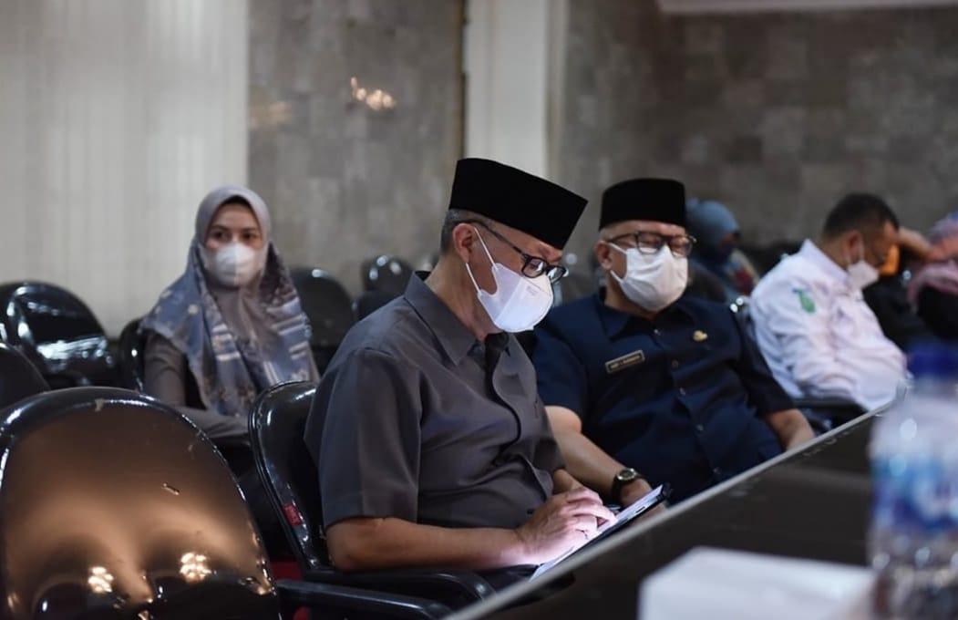 Rapat Paripurna DPRD dengan Pemkot Sukabumi Bahas