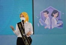 Atalia Tinjau Vaksinasi Palajar SMPN 41 Kota Bandung