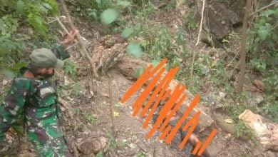 Sosok Mayat di Hutan Cimanik Sanghyang Poek Gegerkan Warga