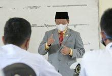 Tinjau PTM di Pangandaran, Pak Uu Pastikan Prokes Diterapkan