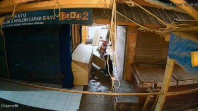 Toko Kitab di Pasar Ciranjang Dibobol Maling Namun Salah Target