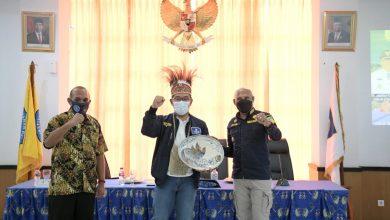 Walikota Jayapura Ucapkan Selamat Jabar Juara PON