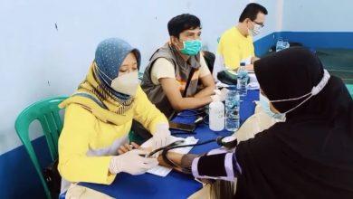 Warga Desa Mekarwangi Vaksinasi Tahap 1